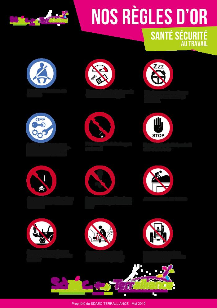 FLASH SST #3 : Sécurité autour des tonnes à eau / tronçonneuse / Sécurité routière reglesdorsantesecurite