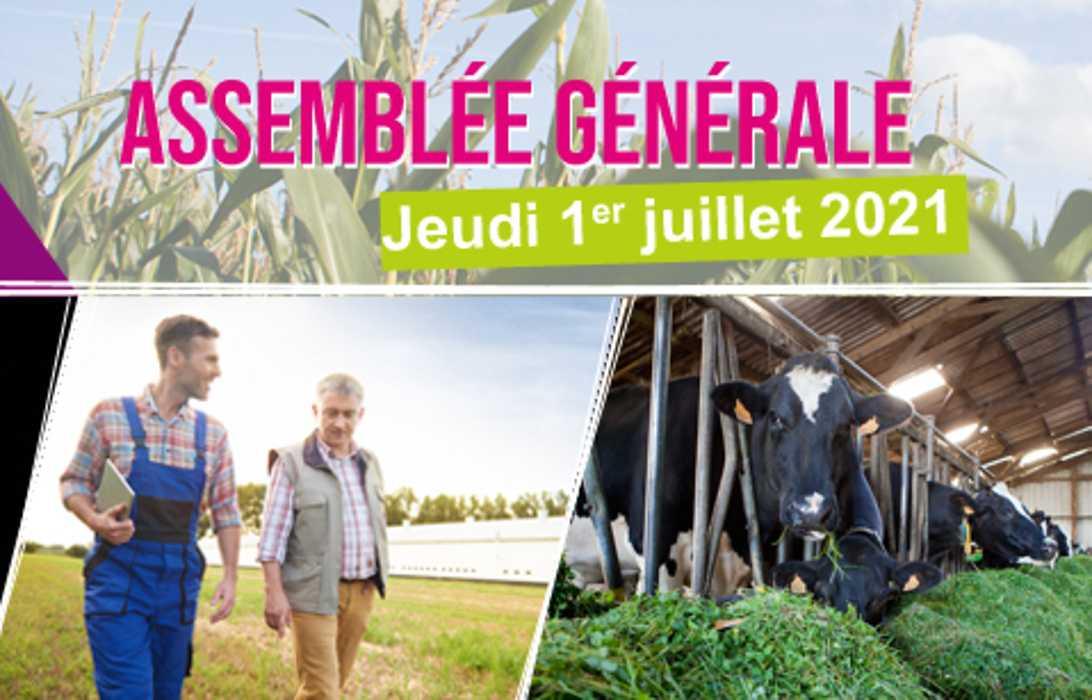 L''AG du SDAEC-TERRALLIANCE aura lieu le 1er juillet 2021 à LE QUILLIO (22). 0
