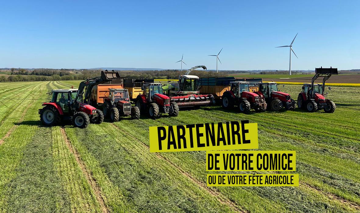 Le SDAEC-TERRALLIANCE, partenaire de vos comices, vos portes ouvertes et vos fêtes agricoles cet été ! 0